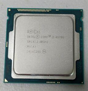 INTEL CORE i5 4570s @ 2.90GHz CPU LGA 1150