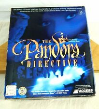 Tex Murphy THE PANDORA DIRECTIVE PC Game BIG BOX Interactive Movie Win 95