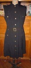 CALVIN KLEIN CUTE BLACK BELTED DRESS, EPAULETTES, SZ 12, BARELY WORN, FLAWLESS!!