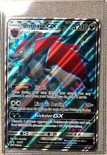 NEW JUMBO Pokemon Zoroark GX SM84 Promo Card Shining Legends Oversize Toploader