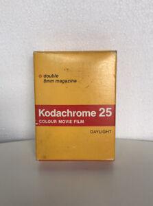 Brand New Kodak Kodachrome 25 Colour Movie 8mm Double Film SEP/1978 Daylight