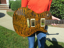 Prs Private Stock Singlecut BRAZILIAN NECK and Fretboard RARE Tiger Eye Quilt