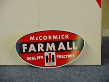 INTERNATIONAL HARVESTER - McCORMICK FARMALL STICKER