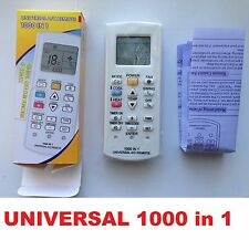 Universal A/C Air Con Conditioner Remote Fujitsu LG Carrier Summer Proton Sasuki