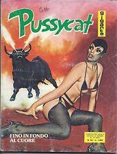 Fumetto erotico -  PUSSYCAT gigante    n. 65   quasi  BUONO