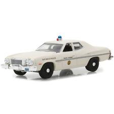 Greenlight 1975 Ford Torino San Diego California Police Car White 1:64 42840-A