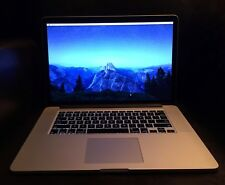 "2015 Apple MacBook Pro 15"" Retina i7 2.8Ghz 16GB 512g ssd AppleCare to mid 2019"