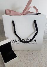 Original PANDORA Charm or Bracelet EMPTY GIFT BAG with BOX & Ribbon