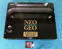 NEO GEO AES BOXED SERIAL 128659 NEOGEO  JAPAN VERSION SNK AES