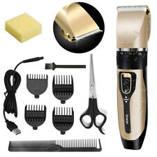 Professional Hair Clippers Men cordless hair trimmers washable Beard Trimmer