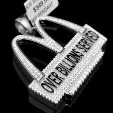 Unisex Mujeres Hombre Grande Grueso Auténtico Blanco Oro Plata Jewelry & Watches Fine Rings