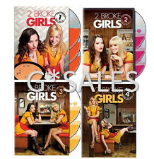2 Two Broke Girls TV Series Complete Season 1-4 (1 2 3 4) NEW 12-DISC DVD SET