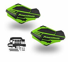 Powermadd Sentinel Handguards Guards Kit Green Snowmobile Snow Ski Doo Summit