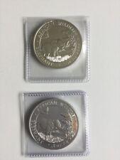 2019 Somalia Silver Elephant -- 1 oz .999 fine silver - Coin