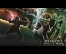 Big Trouble in Little China Shout Factory Lithograph Poster Art Print Limited Ed