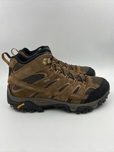 Merrell Mens Moab 2 MID WP earth Hiking Boots Size 11 M , 009