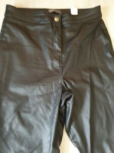 Leather Look Jeans Size 12 Petite