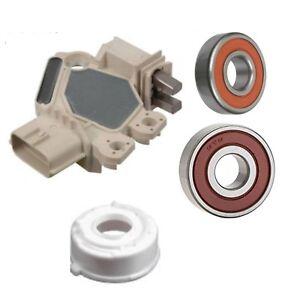 Alternator Rebuild Kit for 03-05 Sedona 03-06 Sorento Regulator Brushes Bearings
