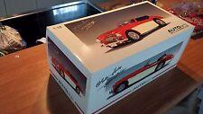 (AUTOART) AUSTIN HEALEY MK 3000 SHINY RED/WHITE (VERY RARE) 1/18 scale