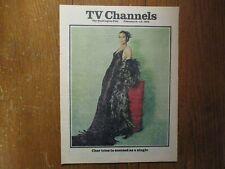 February 9-1975 Washington Post TV Channels Magazine(CHER/SONNY & CHER/CHER BONO