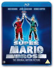 Super Mario Bros. NEW Kids Family Blu-Ray Disc A. Jankel B. Hoskins J. Leguizamo