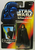 1996  Kenner Star Wars Luke Jedi Knight POTF 2 Red Card New & Sealed Figure MOC