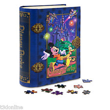 Authentic Walt Disney Mickey Mouse Minnie Storybook Jigsaw Puzzle Donald Duck