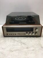 Vintage Sylvania Turntable AM/FM Receiver CS 4720 Untested Used for Repair/parts
