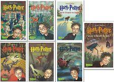 Harry Potter Gesamtausgabe Band 1 2 3 4 5 6 7 komplett von Joanne K Rowling