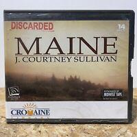 Maine by J. Courtney Sullivan Ex Library 14 CD Unabridged Audiobook Free Ship