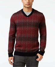 Alfani Men's V-Neck Pattern Sweater