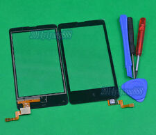 For Nokia X RM980 RM-980 Black Touch Screen Glass Digitizer Replacement Parts
