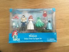DISNEY ARIEL THE LITTLE MERMAID 8 PIECE PRINCESS DELUXE PLAY SET, BNIB, NEW
