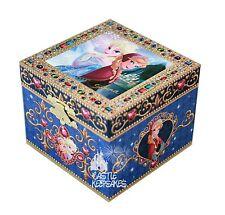 Disney Parks Frozen Music Box Elsa and  Anna Jewelry Let it Go
