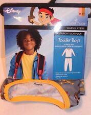 Cuddl Duds Disney Jake & Never Land Pirates Thermal Underwear Toddler Boy 2T-3T