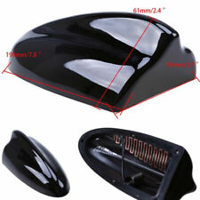 Black Auto Car Classic Shark Fin Antenna with FM/AM Connection Cable Decoration