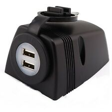 12v Surface Mount Dual USB Accessory Power Socket 5v 2.1A Output
