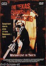 DVD THE TEXAS CHAINSAW MASSACRE 1 TOTAL UNCUT FSK18 WIE NEU Blutgericht in Texas