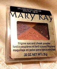 Mary Kay Filigree Eye & Cheek Powder - SPLENDID, New in Case