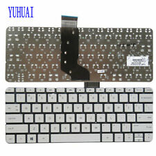 New  HP Stream 11-d 11-d011wm 11-D010WM 792906-001 794447-001 US Keyboard white