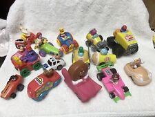 Set Of 15 Restaurant  Premiums Toy Vehicles