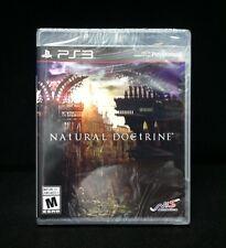 Natural Doctrine  (Sony Playstation 3, 2014) BRAND NEW / Region Free