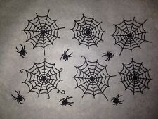 6 X Edible Webs Cake Lace Decorations Spider Man Halloween Birthday Any Colour