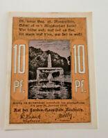 NEUSTRELITZ REUTERGELD NOTGELD 10 PFENNIG 1922 NOTGELDSCHEIN (10732)
