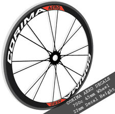 Corima Aero wheel decals stickers for 700c 45mm carbon bike bicycle road wheels