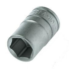 "Teng Tools 16mm Socket 1/2"" Drive Hexagon 6 Point Metric 38mm Long M1205166-C"
