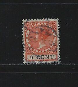 NETHERLANDS - #176 - QUEEN WILHELMINA USED STAMP