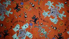 Brand New Halloween Print Fabric