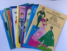 TOM TIERNEY PAPER DOLLS UNUSED/UNCUT MIXED LOT OF 7