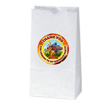12 LION GUARD Birthday Party TREAT BAGS with STICKERS (2.5 inches)